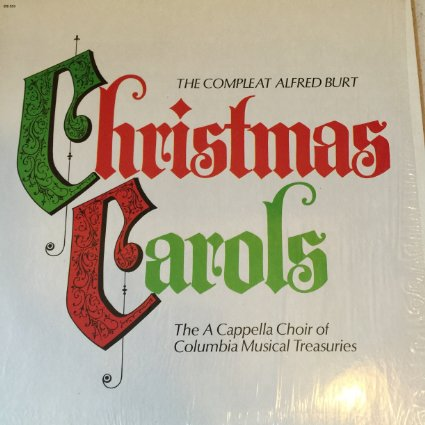 The Complete Alfred Burt Christmas Carols