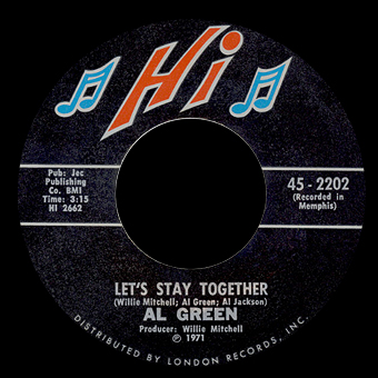 Let's Stay Together /	Tomorrow's Dream