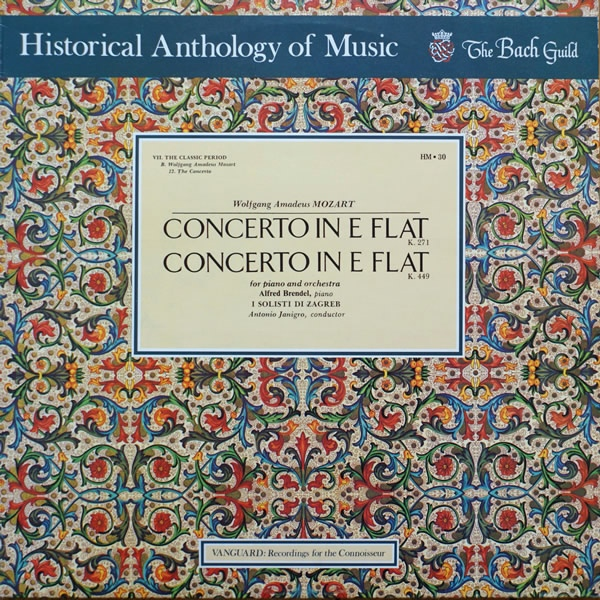 Mozart: Concertos For Piano And Orchestra In E Flat Major K.271 And K.449