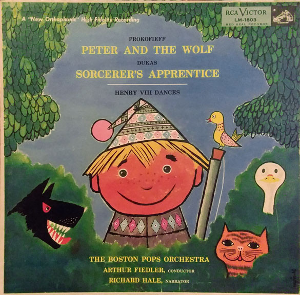 Peter And The Wolf / Sorcerer's Apprentice / Henry VIII Dances