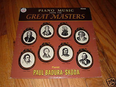 Piano Pieces Of The Great Masters