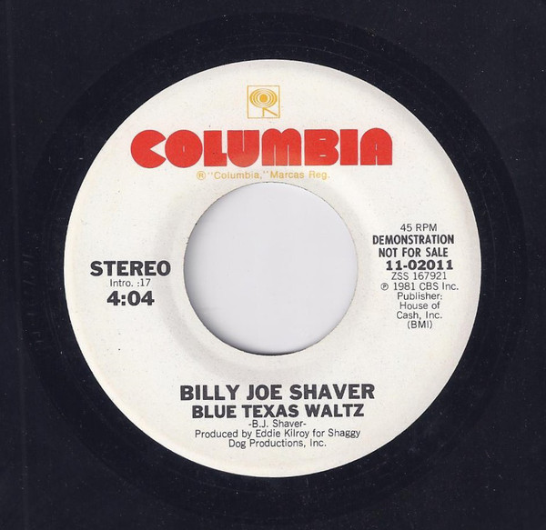Blue Texas Waltz / Saturday Night