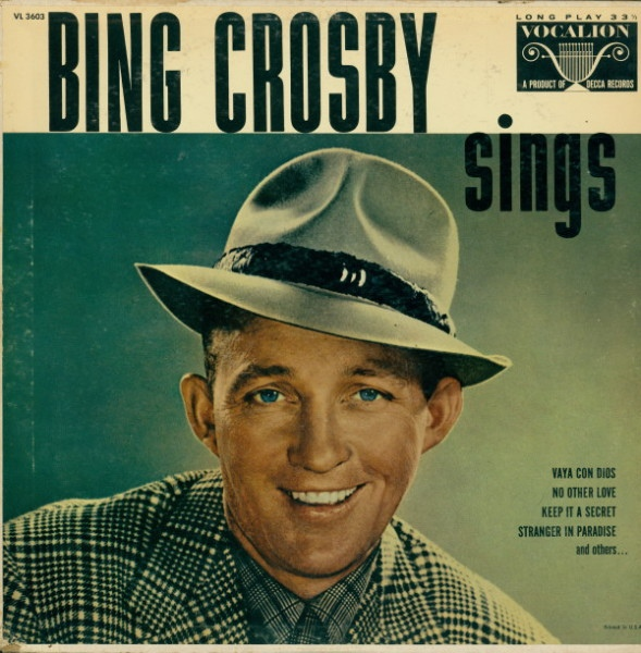 Bing Crosby Sings