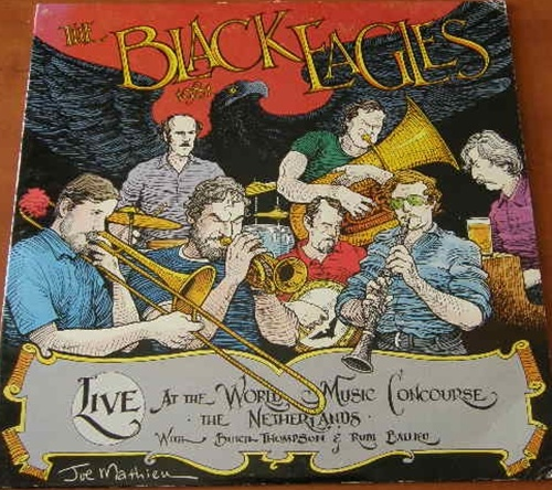 The Black Eagles 1981 - Live at the World Music Concourse - The Netherlands