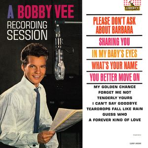 A Bobby Vee Recording Session