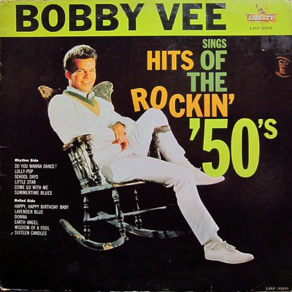 Bobby Vee Sings Hits Of The Rockin' '50's