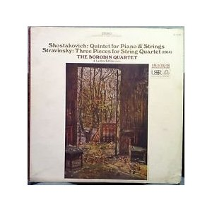 Shostakovich: Quintet For Piano And Strings Stravinsky: Three Pieces For String Quartet