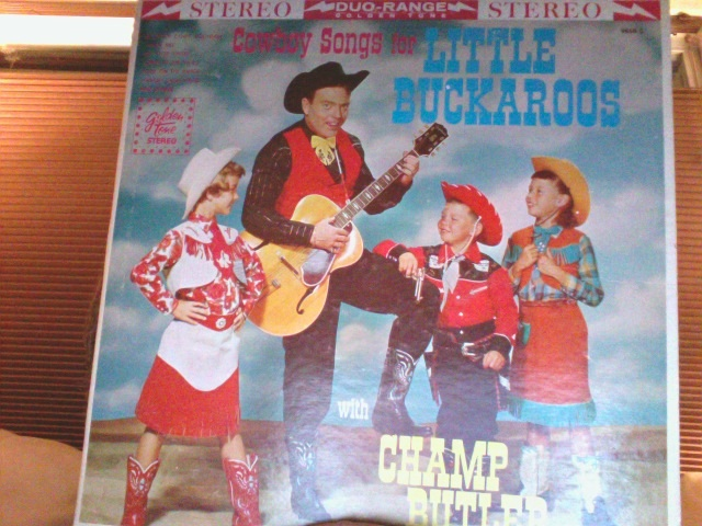 Cowboy Songs For Little Buckaroos