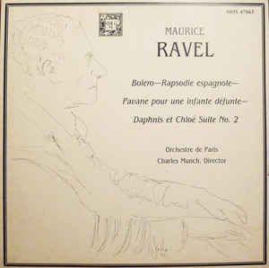 Munch Conducts Ravel