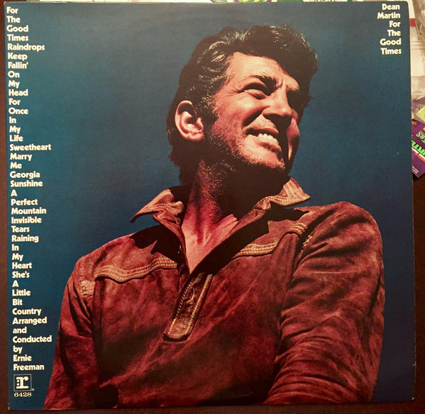 Dean Martin For+The+Good+Times LP