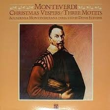 Claudio Monteverdi Christmas Vespers/Three Motets