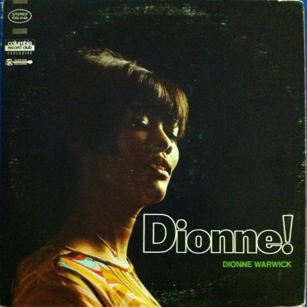 Dionne Warwick Vinyl Record Albums