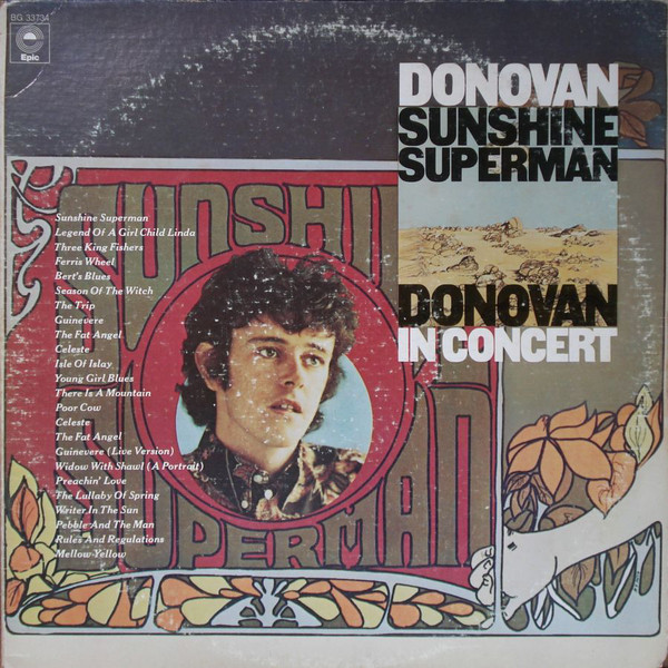 Sunshine Superman / In Concert At The Anaheim Convention Center