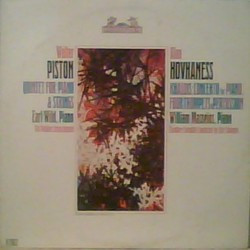 Walter Piston: Quintet For Piano & Strings / Khaldis: Concerto For Piano Four Trumpets & Percussion