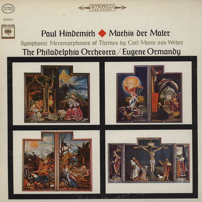 Hindemith: Mathis Der Maler / Symphonic Metamorphoses Of Themes By Weber