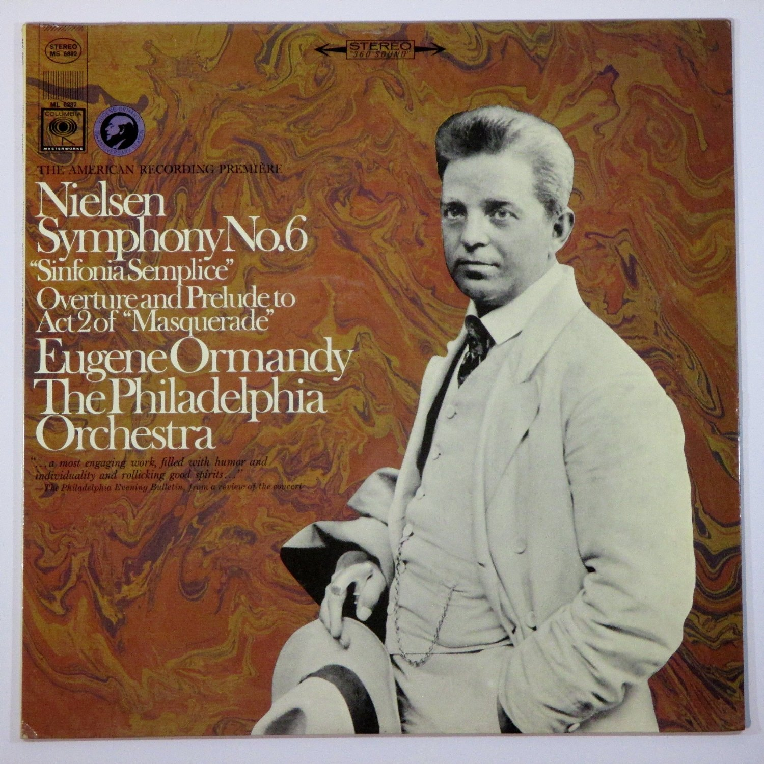 Nielsen Symphony No.6 Sinfonia Semplice Overture and Prelude to Act II of Masquerade