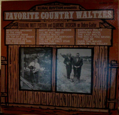 Favorite Country Waltzes
