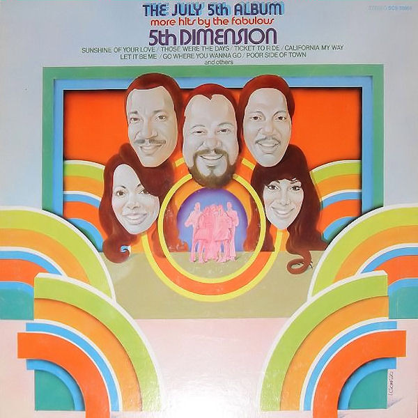 The July 5th Album - More Hits By The Fabulous 5th Dimension
