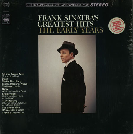 Frank Sinatra's Greatest Hits The Early Years