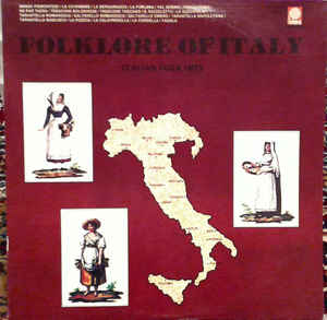 Folklore of Italy Vinyl