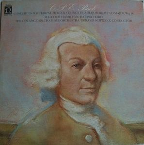 Bach: Concertos For Harpsichord & Strings In A Major Wq. 8 / In D Major Wq. 18