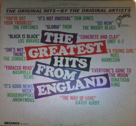 The Greatest Hits From England