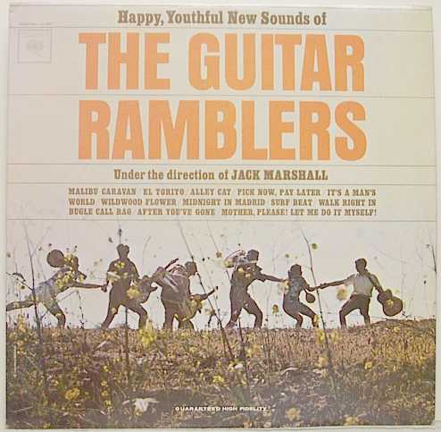 Happy Youthful Sounds Of The Guitar Ramblers