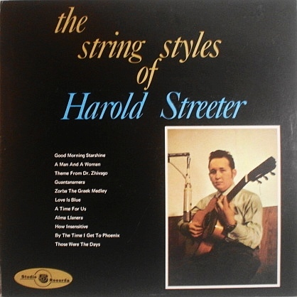 The String Styles Of Harold Streeter