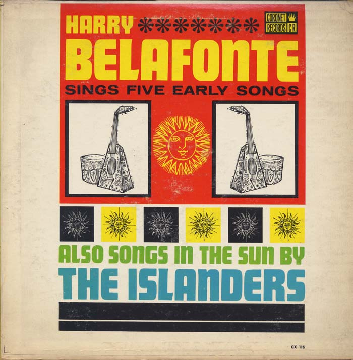 Harry Belafonte Vinyl Record Albums