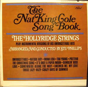 The Nat King Cole Song Book