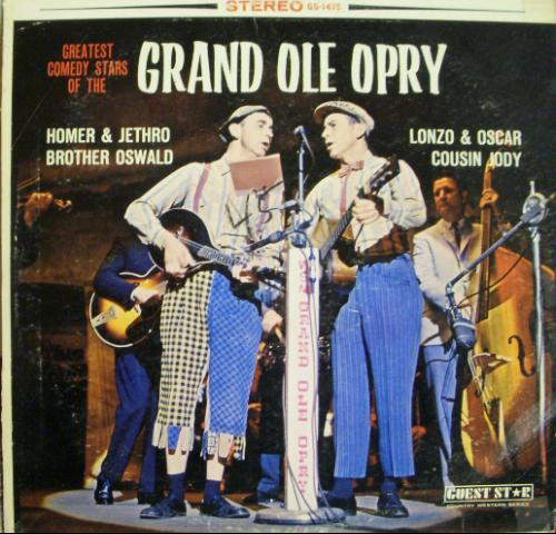 Greatest Comedy Stars of the Grand Ole Opry
