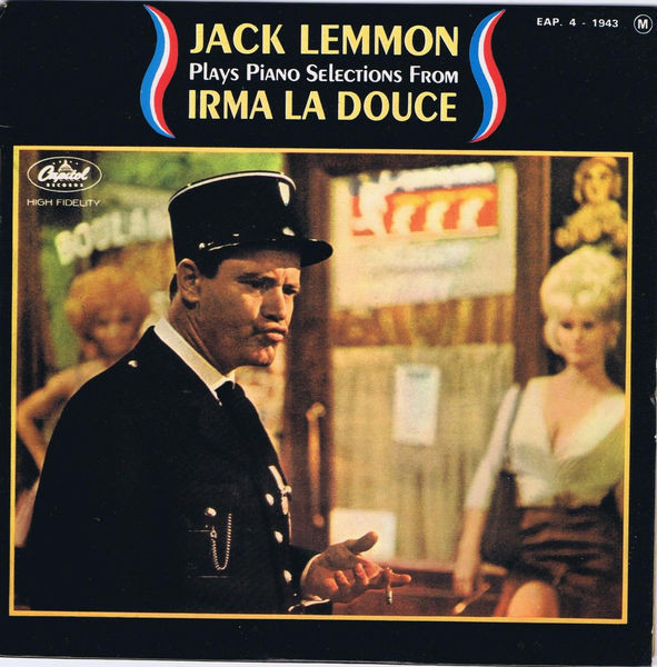 "Jack Lemmon Plays Piano Selections From ""Irma La Douce"""