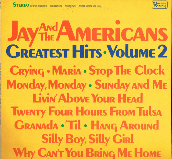 Jay and the Americans Greatest Hits Vol. 2