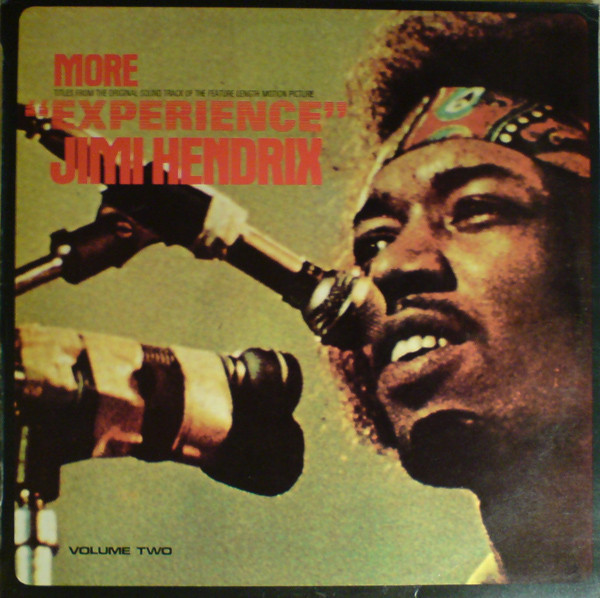 "More ""Experience"" Jimi Hendrix (Titles From The Original Sound Track Of The Feature Length Motion Picture) (Volume Two)"