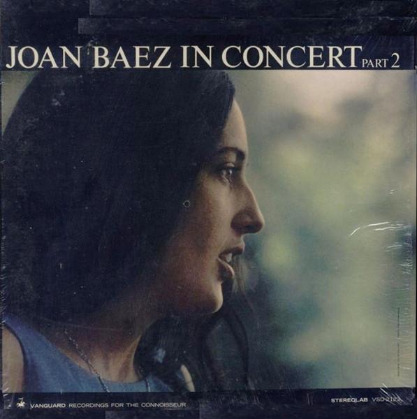 Joan Baez Vinyl Record Albums