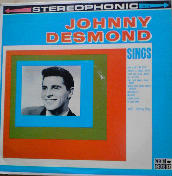 Johnny Desmond Sings