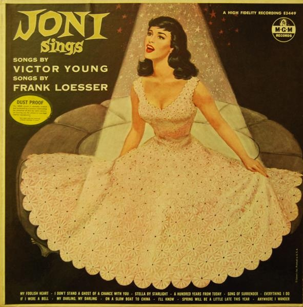Joni Sings Songs By Victor Young And Songs By Frank Loesser
