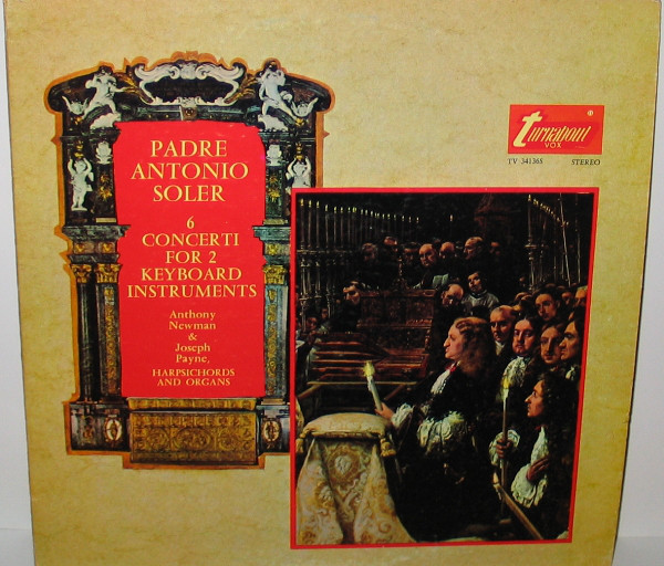 Padre Antonio Soler: 6 Concerti For 2 Keyboard Instruments