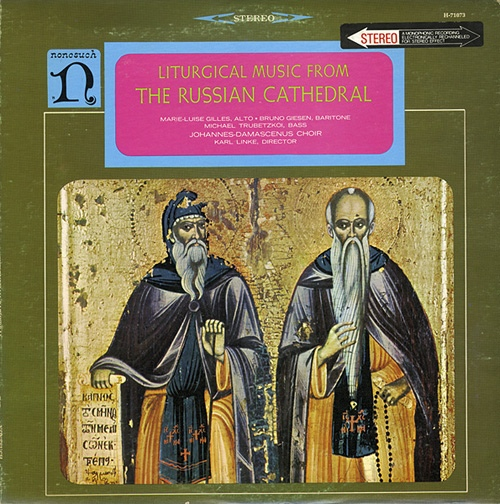 Liturgial Music From The Russian Cathedral