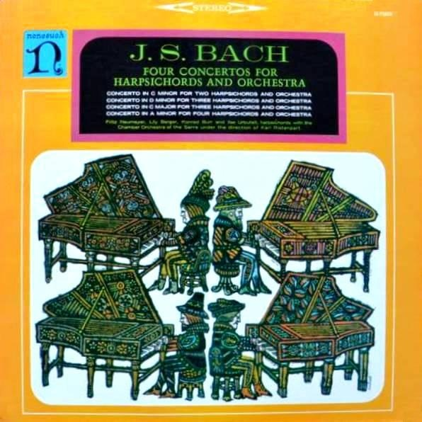 Bach: Four Concertos For Harpsichords And Orchestra