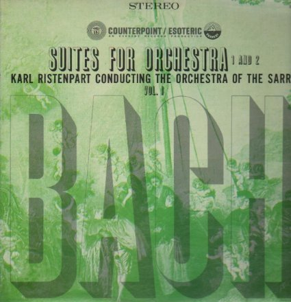 Bach: Suites For Orchestra 1 And 2