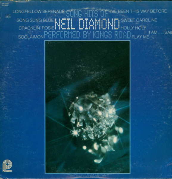Song Hits Of Neil Diamond Performed By King's Road