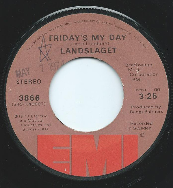 Friday's My Day / Find A Lover