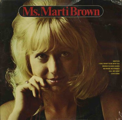 Ms. Marti Brown