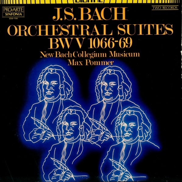 J. S. Bach: Bach Orchestral Suites BWV 1066-69