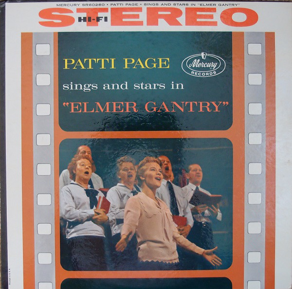 Patti Page Sings And Stars In ''Elmer Gantry''