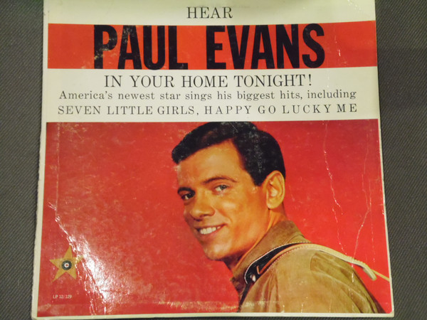 Hear Paul Evans In Your Home Tonight!