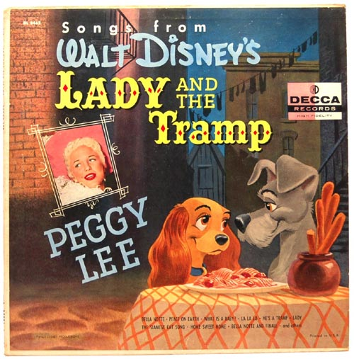 Songs From Walt Disney's Lady And The Tramp