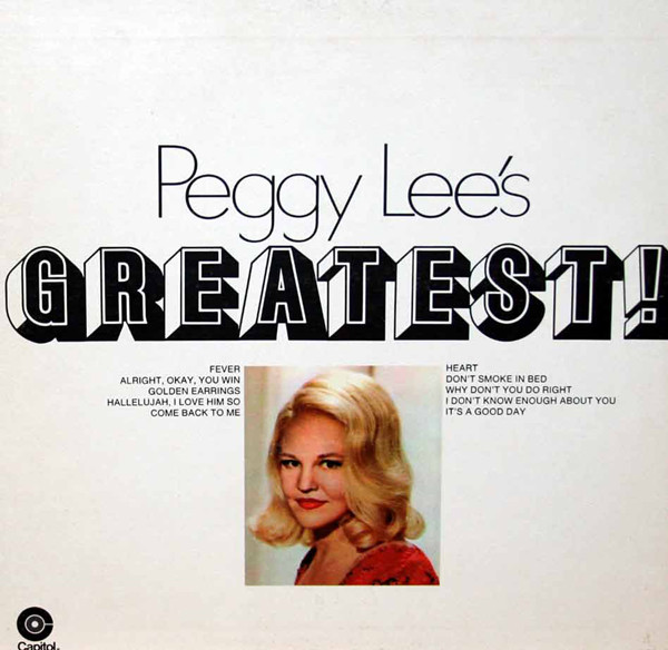 Peggy Lee's Greatest!