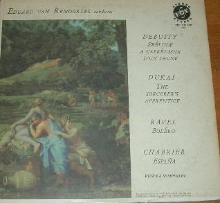 Debussy Ravel Dukas Chabrier